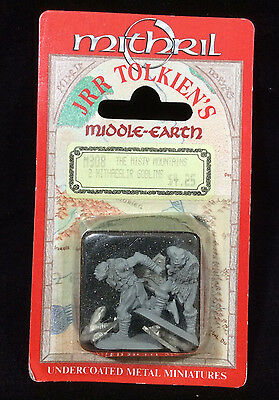 JRR Tolkiens Middle Earth Mithril Miniature M308 Misty Mtns 2 Hithaeglir Goblins