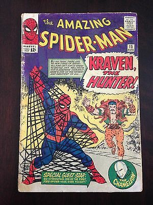 Amazing Spider-Man 15 1st Appearance of Kraven the Hunter