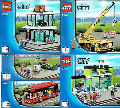 lego city bus eur 21 00 picclick de. Black Bedroom Furniture Sets. Home Design Ideas