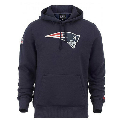 New England Patriots New Era NFL Team Logo Hooded Fleece