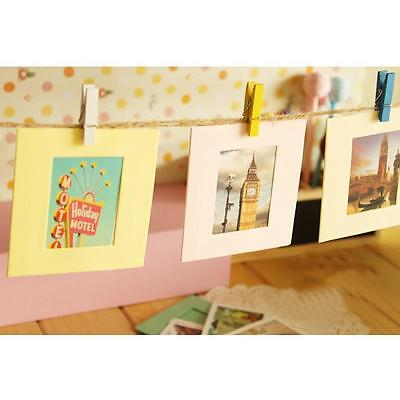 """10X 6"""" PAPER Photo Frame DIY Wall Art Picture Hanging Album With ..."""