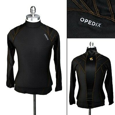 New OPEDIX by ALIGNMED Mens Mock Neck Lightweight Compression Posture Shirt NWT!