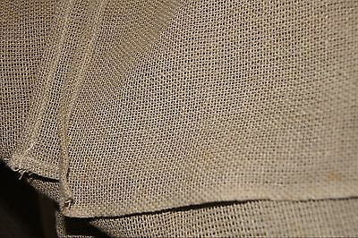 Pontremoli Waxed Linen Needlepoint Embroidery one piece Canvas 3.35 x 2.64 m.