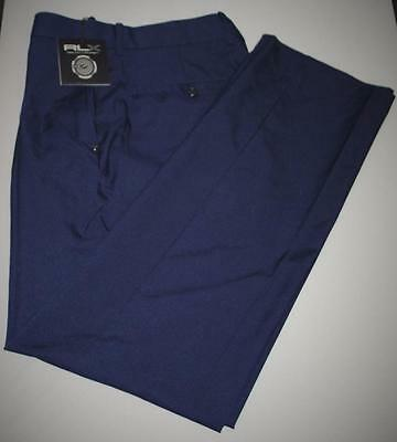 NWT Mens Size 32X32 Ralph Lauren RLX polyester golf pants French Navy