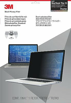 "3M Privacy Screen Protector Filter for Apple MacBook Pro 15"" w/ Retina PFNAP003"