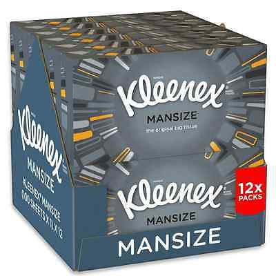 NEW Tissues - 12 Box Pack (1200 Tissues Total)