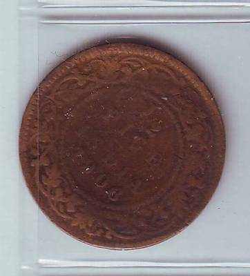 LOT I1-25 1/2 Pice 1906 Inde coin KM 499