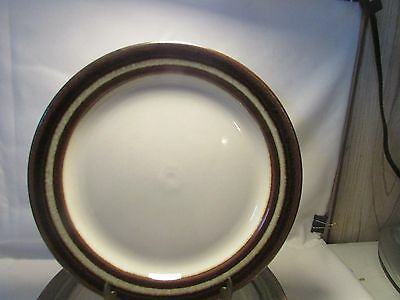 "VINTAGE SET  Of 4 Arabia, Finland ""Karelia"" Large Dinner Plates Mint RARE"