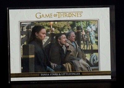 Game Of Thrones Season 5 Gold Relationships Sansa Stark&littlefinger/225 Dl23