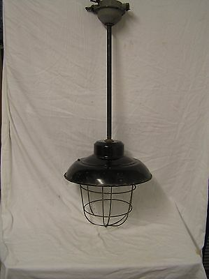 Vintage Industrial Pendant Light Fitting