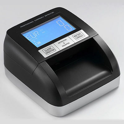 Counterfeit Bank Note Detector/money Counter Multi Currency Gbp/euros