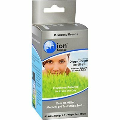 Phion Balance Diagnostic Ph Test Strips - 90 Strips