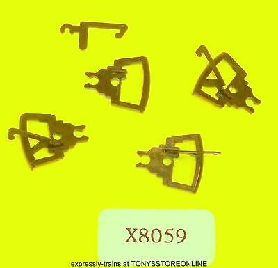 hornby oo new spares x8059/x8889 1x pack of 4 couplings (narrower type coupling)