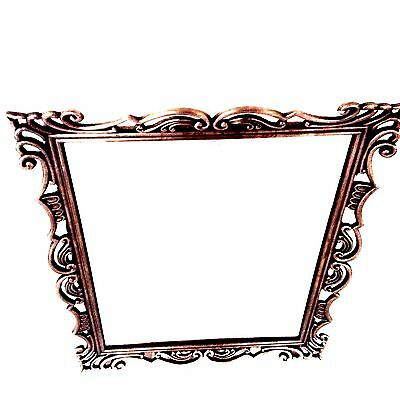 Longaberger Pewter Framed Mirror 9 x 11 New So Rachel can Hang on Wall or Stand