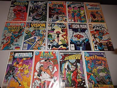 1980's  Marvel & DC Comics  (Lot of 40)  FN/VF -  Great Mix - Copper Age   (2)