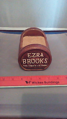 Ezra Brooks whiskey bottle display holder