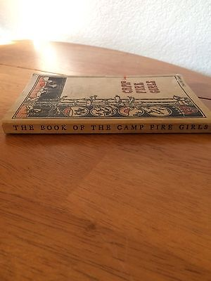Antique © 1933 THE BOOK OF THE 'CAMP FIRE GIRLS'