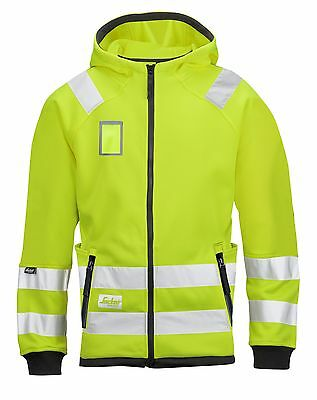 Snickers 8043 High-Vis Micro Fleece Jacket Class 3 SnickersDirect Yellow Pre