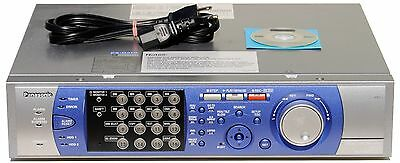Panasonic WJ-HD316 16-Channel Commercial Quality Security CCTV DVR