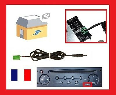 RENAULT Kangoo 2005 - 2011 Car Stereo MP3 iPod iPhone Aux In Input Lead
