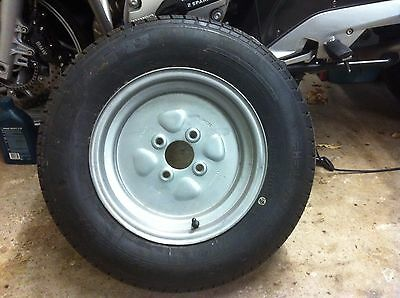 """Trailer Wheel And Tyre 12"""" Pcd100Mm 412Kg"""