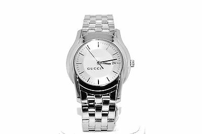 d994703c076 Gucci Stainless Steel Silver Tone 5500 XL Series Men s Watch
