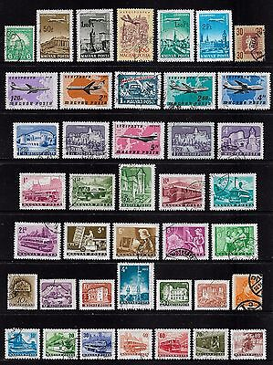 HUNGARY - mixed collection No.29, incl Air Mail