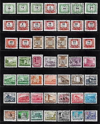 HUNGARY - mixed collection No.30, incl Postage Due