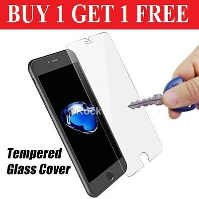 100% Genuine Tempered Glass Film Screen Protector Protection Apple Iphone 6S & 6