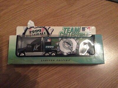 MLB Limited Edition Team Collectible Florida Marlins Diecast Truck 1999
