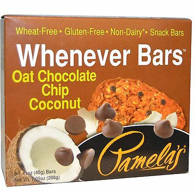 Whenever Bars Gluten- Free_ Oat Chocolate Chip Coconut - 7.05oz