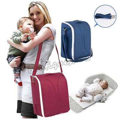 Portable Infant Baby Co-sleeping Cribs Folding Bed Cradles Mummy Storage Bag