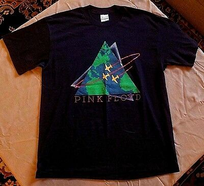 1987 Pink Floyd Concert T Shirt Xl True Vintage Mint Spring Ford Single Stitch