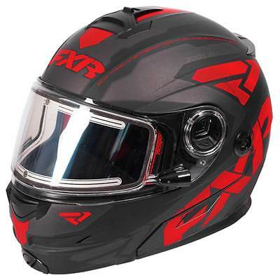 FXR Fuel Modular Electric Helmet Red SMALL