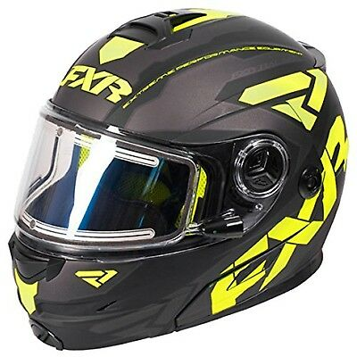 FXR Fuel Modular Electric Helmet Matte Hi-Vis LARGE
