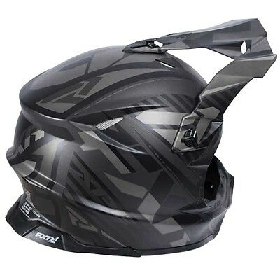 FXR X1 Helmet Black Matte SMALL