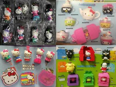 McDonald's 2017 & 2016 HELLO SANRIO & 2018 & 2015 HELLO KITTY - Pick your toy