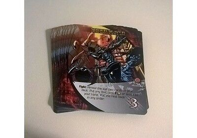 Marvel 3D 2015 Upper Deck Legendary Playset Spider-Slayer 10 Card Henchman Set