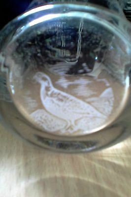 famous grouse scotch whisky glass - celebrating 100 years