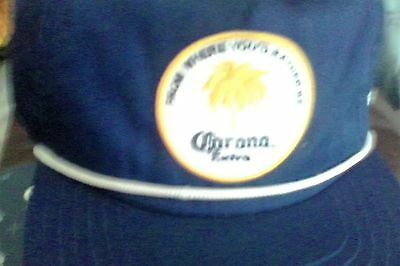 corona beer cap (where youd rather be) -still has tag