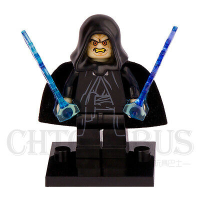 STAR WARS EMPEROR CHANCELLOR PALPATINE Building Blocks Minifigures Kids Toys VD