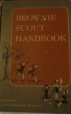 GSA. Brownie Scout Handbook 1951 First Edition Ray Mitchell, Ruth Wood