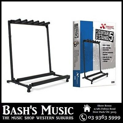 Xtreme Guitar Multi Guitar Rack Stand Holds 5 Guitars GS805 New