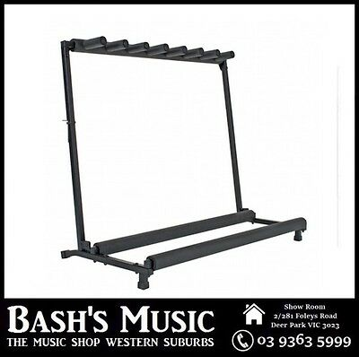 Xtreme Guitar Multi Guitar Rack Stand Holds 7 Guitars GS807