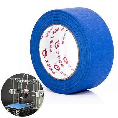 1Roll 50mx50mm Blue Tape Painters Printing Masking Tool For Reprap 3D Printer