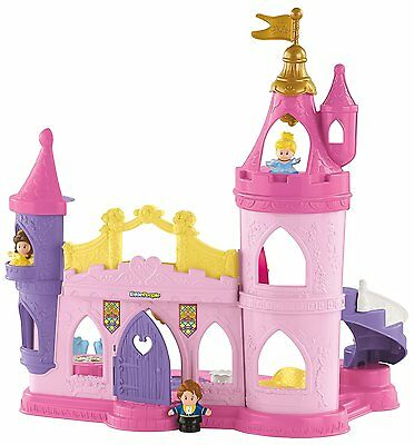 Fisher-Price Little People Disney Princess Musical Dancing Palace Baby Toy