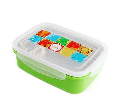 Ospard Stainless Steel Insulated Lunchbox Microwavable (Green)