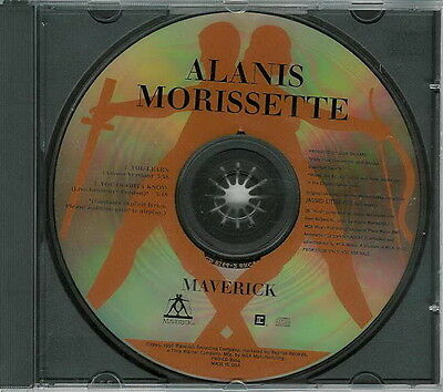 Alanis Morissette CD You Learn + YOU OUGHTA KNOW Live Grammy MINT LIMITED Promo
