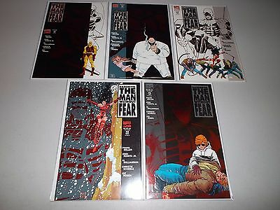 Daredevil: The Man Without Fear #1-5 (Complete Frank Miller mini-series) Lot set