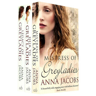 Greyladies Series Collection 3 Books Set By Anna Jacobs Legacy of Greyladies NEW